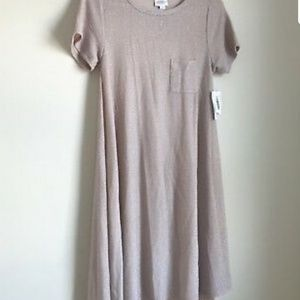 Lularoe Carly dress from the Elegant Collection